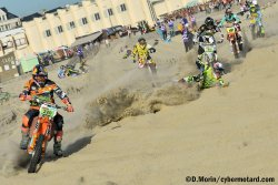 Départ de la Finale du Beach Cross de Berck 2017 : moment fort, acte 1