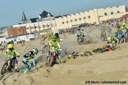 Départ de la Finale du Beach Cross de Berck 2017 : moment fort, acte 2