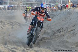 Luca Quenot, Champion de France Sable Juniors 2018 à l'issue de l'Enduropale du Touquet