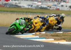 Supersport : un podium pour Kawa