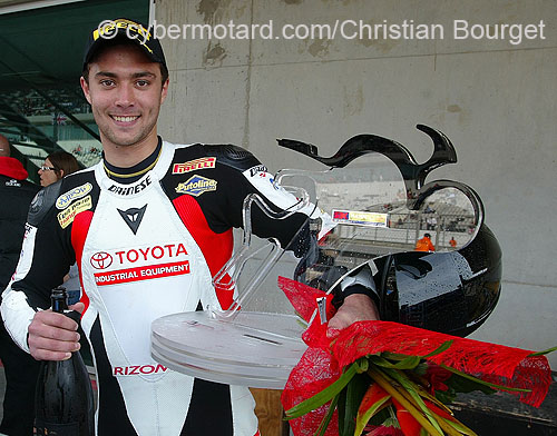 Berger : back on the Portimao track