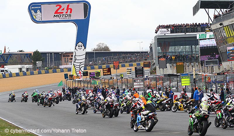 Heures du Mans. La Suzuki N.1 part en tête