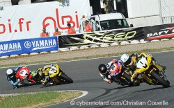 Denis Bouan dans le top 5 du supersport
