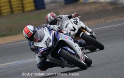 Belle prestation de David Bouvier en 2e manche supersport