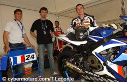 Avec le team « Action Bike Racing »