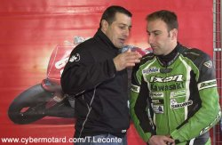 P.Piot avec D.Barrot de Power Bike