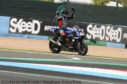Dommage pour Axel Maurin en manche 1 superbike