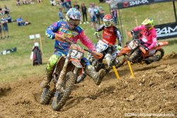 Calvin Fonvieille, le Champion de France Juniors 2017, enfin en vue en Elite MX2