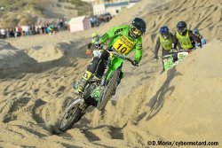 Axel Van de Sande doit se contenter de la 2e place du Beach Cross 2017