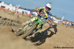 Top 5 MX1 de la Loon Beach Race pour le retour de Robin Bakens