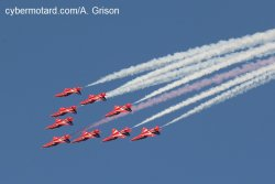 Red Arrows : la patrouille britannique