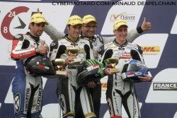 Superbe victoire du Junior Team en Superstock.