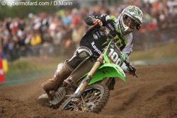 Tommy Searle fait le dos rond