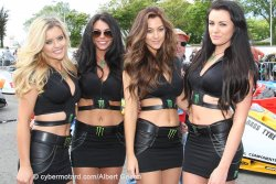"Les Hotesses ""Monster Energy"""