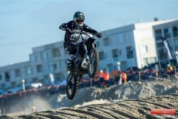 Abandon mécanique pour Adrien Van Beveren au Beach Cross de Berck 2018