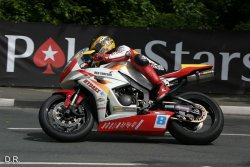 Guy Martin d'un cheveu