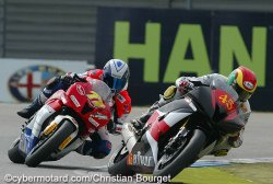 Linfoot leader au championnat 600 superstock