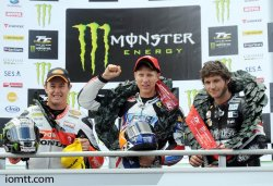 Un podium inattendu en supersport