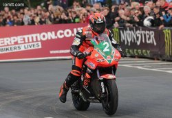 Ryan Farquhar remporte son premier podium de l'édition 2012