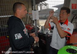 Un pilote japonais en championnat de France supersport