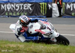 Pole position pour John Mc Guiness en superbike