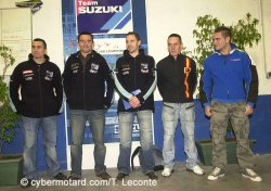 2007 avec le Junior Team en superstock en vitesse