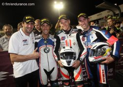 Belle prestation de la BMW N°13 en superstock