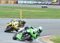 Belle prestation de David Perret en 2e manche supersport