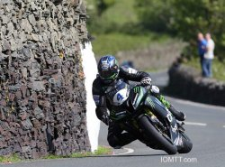 Ian Hutchinson à Tower Bends