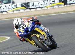 Axel Maurin dans le Top 5 du supersport