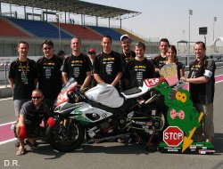 Objectif le podium du superstock