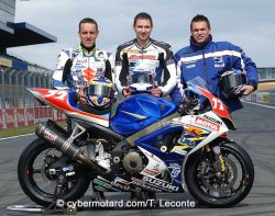 2007 avec le Junior Team en superstock en endurance