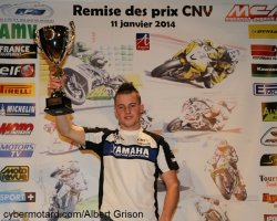 Mathieu Gines bien seul sur le podium supersport